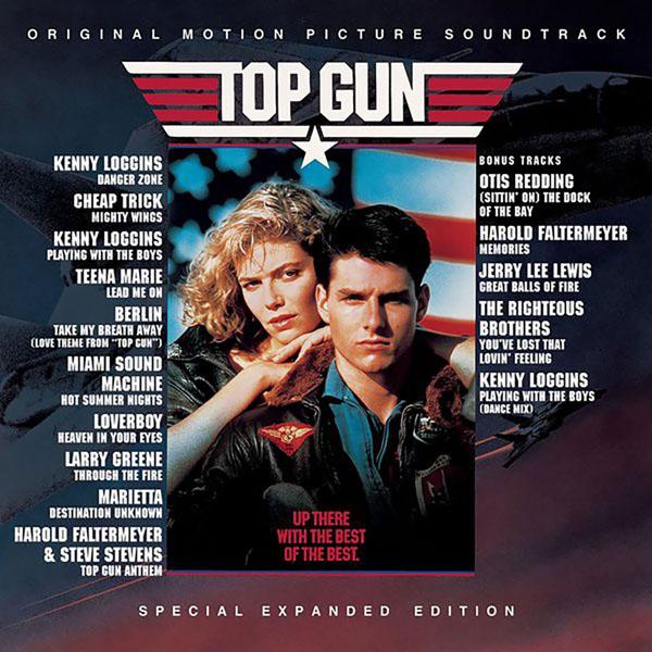 Copertina Disco Vinile 33 giri Top Gun [Soundtrack LP] di Vari Artisti
