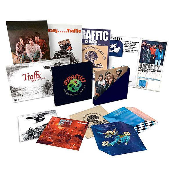 Copertina Vinile 33 giri The Studio Albums 1967-1974 [Cofanetto 6xLP] di Traffic