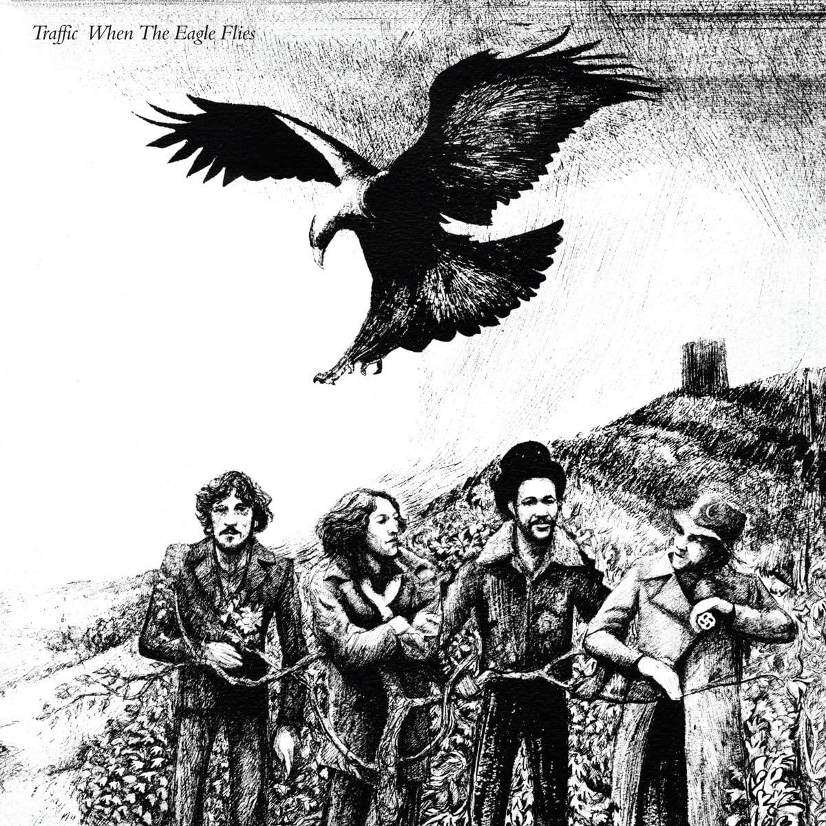 Copertina Vinile 33 giri When the Eagle Flies di Traffic