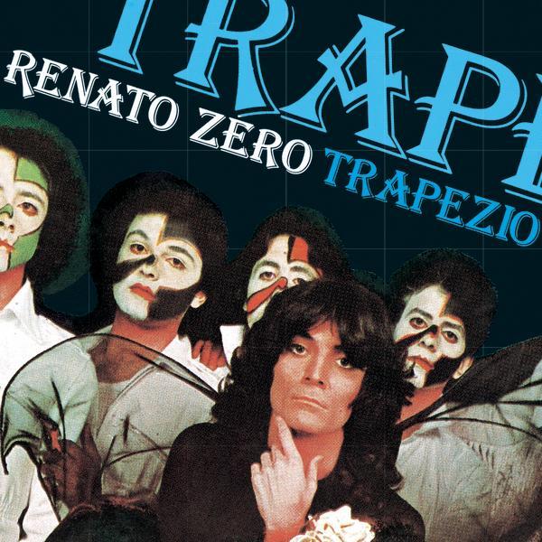 Copertina Vinile 33 giri Trapezio  di Renato Zero
