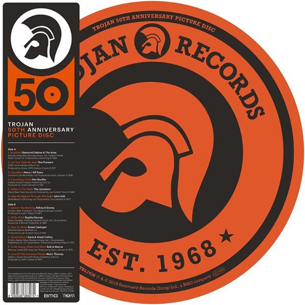 Copertina Vinile 33 giri Trojan 50th Anniversary [Picture Disc] di Artisti Vari