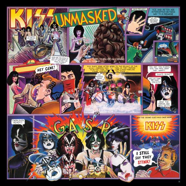 Copertina Disco Vinile 33 giri Unmasked di Kiss