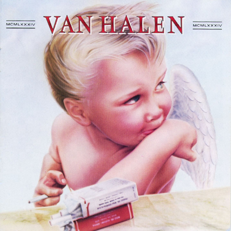 Copertina Disco Vinile 33 giri 1984 di Van Halen