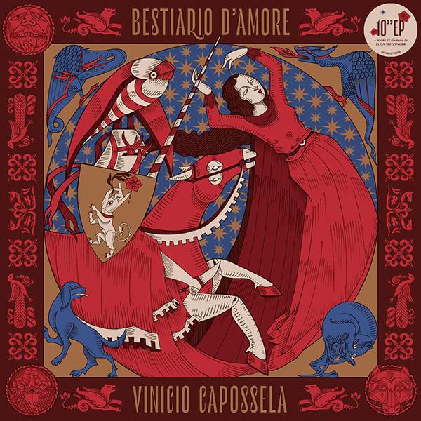 Copertina Vinile 33 giri Bestiario d'Amore di Vinicio Capossela