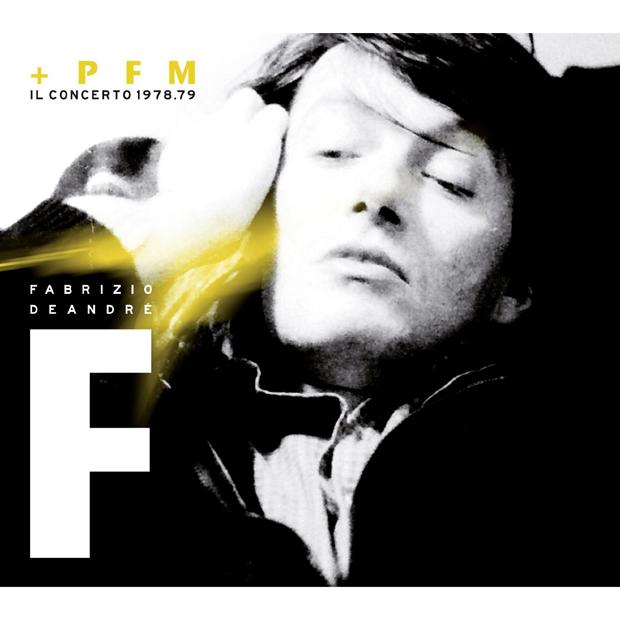 Copertina Disco Vinile 33 giri Fabrizio De André + PFM Il Concerto 1978/79 [2 LP] di Fabrizio de Andrè