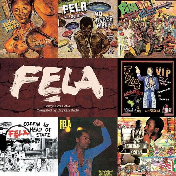 Copertina Vinile 33 giri Vinyl Box Set 4 [Cofanetto 7xLP] di Fela Kuti