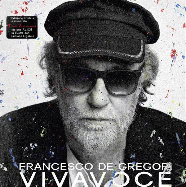 Copertina Disco Vinile 33 giri Vivavoce [Cofanetto 4xLP 2xCD Libro] di Francesco De Gregori