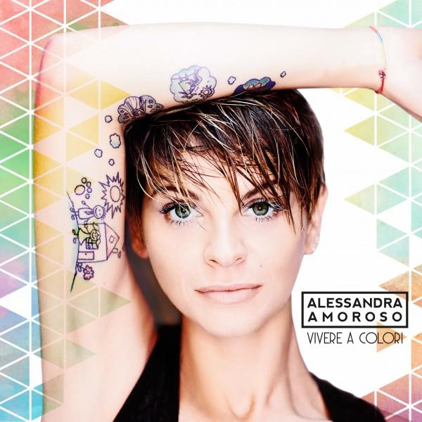 Copertina Disco Vinile 33 giri Vivere a colori [2 LP/Picture Disc] di Alessandra Amoroso