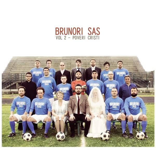 Copertina Disco Vinile 33 giri Poveri Cristi Vol. 2 di Brunori Sas