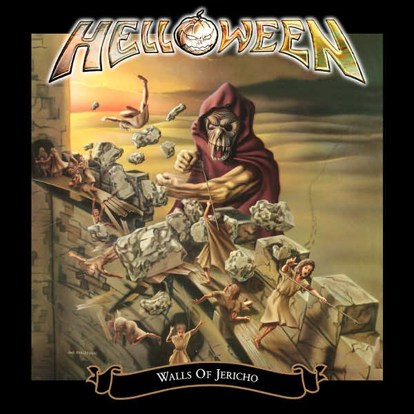 Copertina Disco Vinile 33 giri Walls of Jericho [2 LP] di Helloween