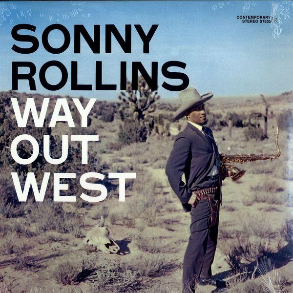 Copertina Disco Vinile 33 giri Way Out West di Sonny Rollins