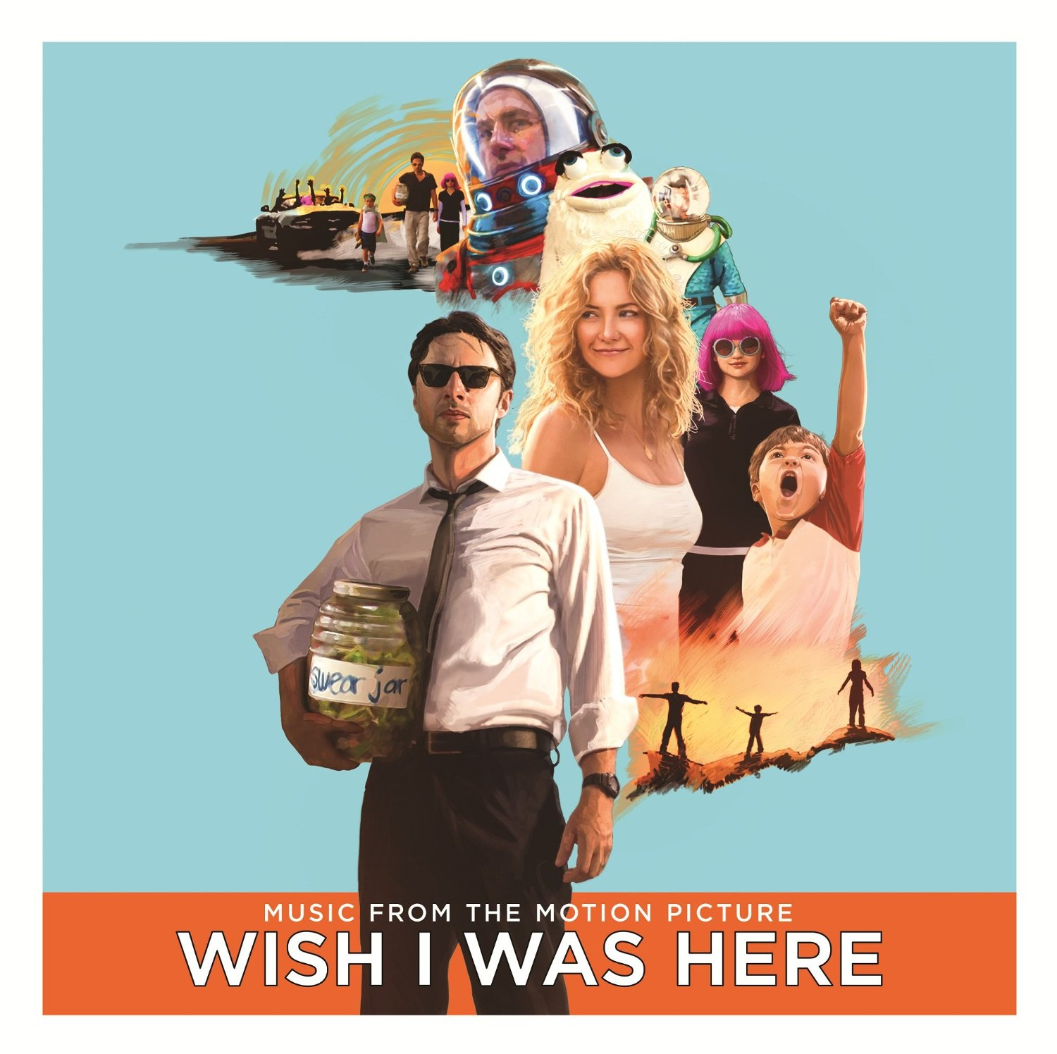 Copertina Disco Vinile 33 giri Wish I Was Here [Soundtrack 2xLP] di