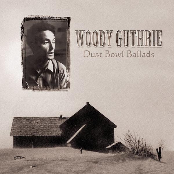 Copertina Vinile 33 giri Dust Bowl Ballads di Woody Guthrie