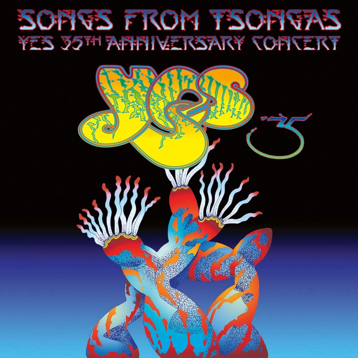 Copertina Vinile 33 giri Songs from Tsongas [4 LP] di Yes