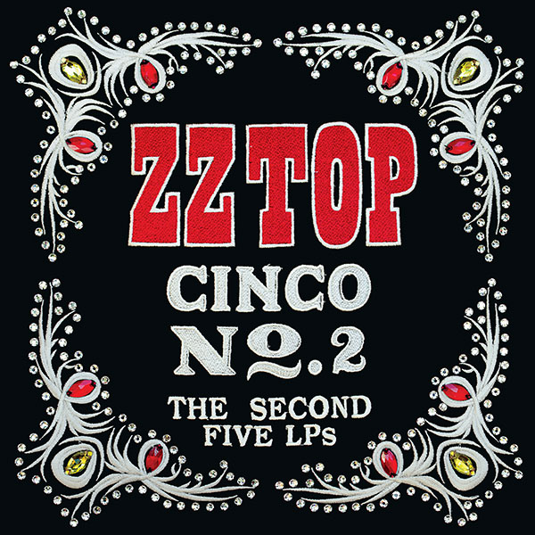 Copertina Vinile 33 giri Cinco: The Second Five LPs [Cofanetto 5xLP] di ZZ Top