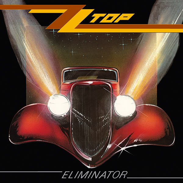 Copertina Disco Vinile 33 giri Eliminator di ZZ Top