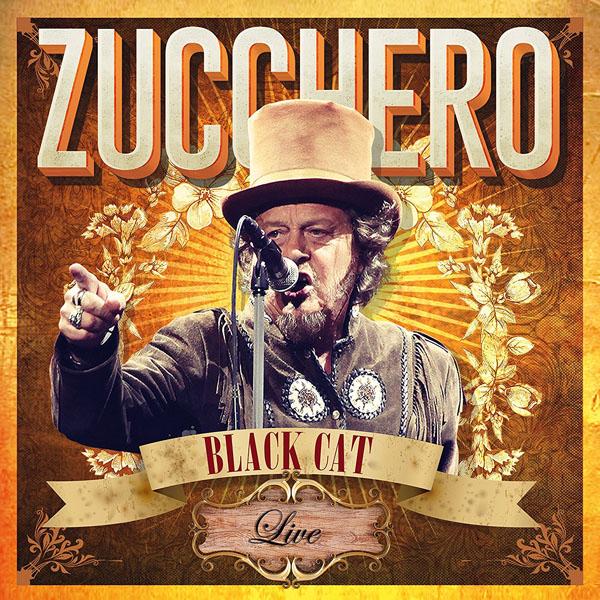 Copertina Vinile 33 giri Black Cat Live - Arena di Verona di Zucchero