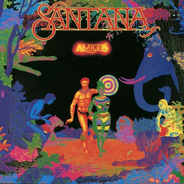Copertina Disco Vinile 33 giri Amigos di Santana