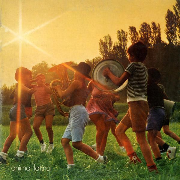 Copertina Vinile 33 giri Anima Latina di Lucio Battisti