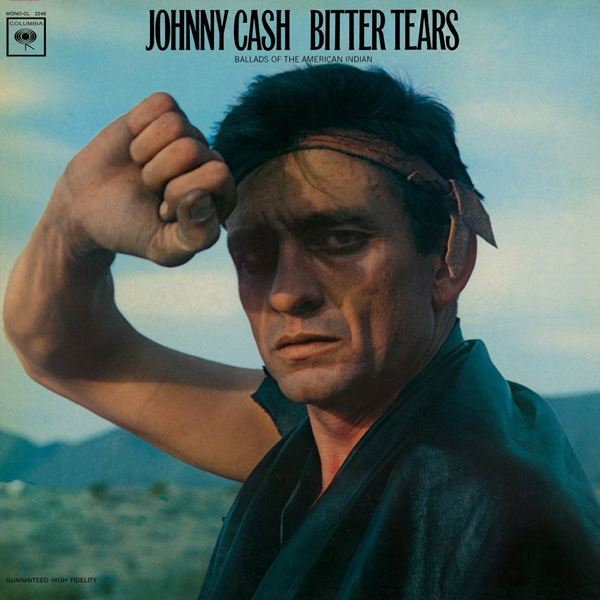 Copertina Disco Vinile 33 giri Bitter Tears: Ballads of the American Indian di Johnny Cash