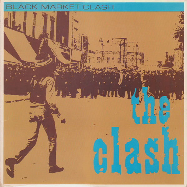 Copertina Disco Vinile 33 giri Black Market Clash  di The Clash