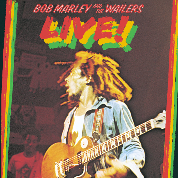 Copertina Disco Vinile 33 giri Live! di Bob Marley and The Wailers