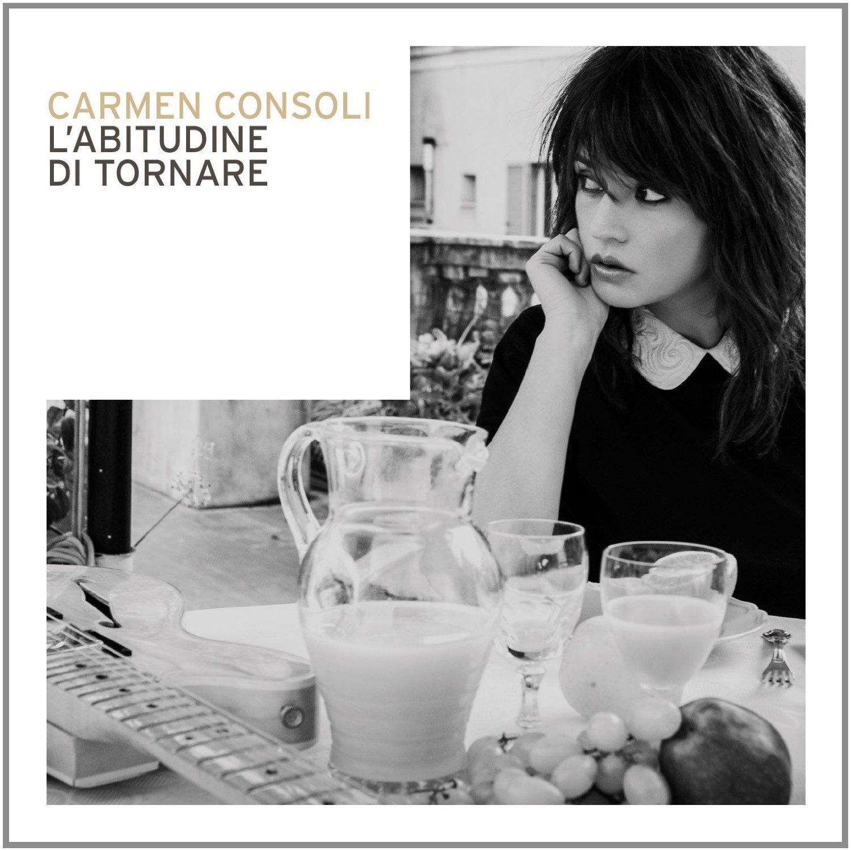 Copertina Disco Vinile 33 giri L'abitudine di Tornare di Carmen Consoli