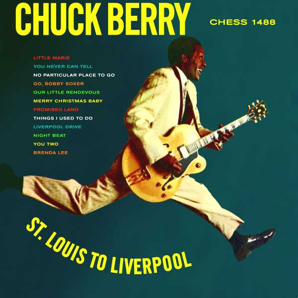 Copertina Disco Vinile 33 giri St. Louis to Liverpool di Chuck Berry