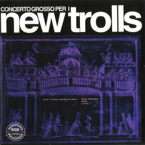 Copertina Disco Vinile 33 giri Concerto grosso per i New Trolls   di New Trolls