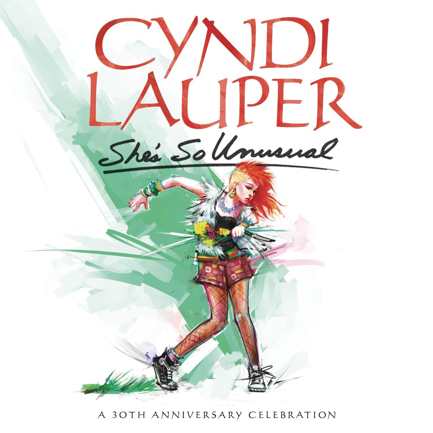 Copertina Disco Vinile 33 giri She's So Unusual | 30° Anniversario di Cyndi Lauper