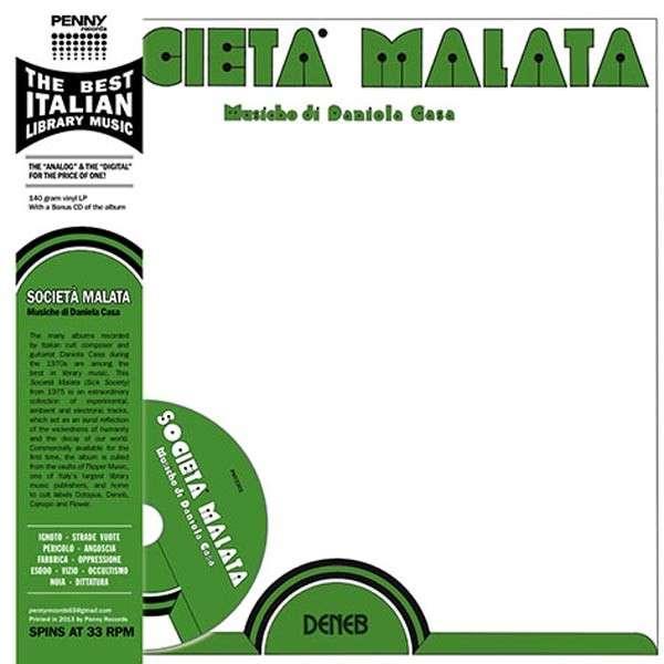 Copertina Disco Vinile 33 giri Società malata [LP+CD] di Daniela Casa