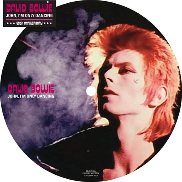 Copertina Disco Vinile 33 giri John, I'm Only Dancing [Singolo 45 Giri] di David Bowie