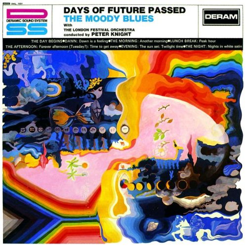 Copertina Disco Vinile 33 giri Days of future passed di The Moody Blues