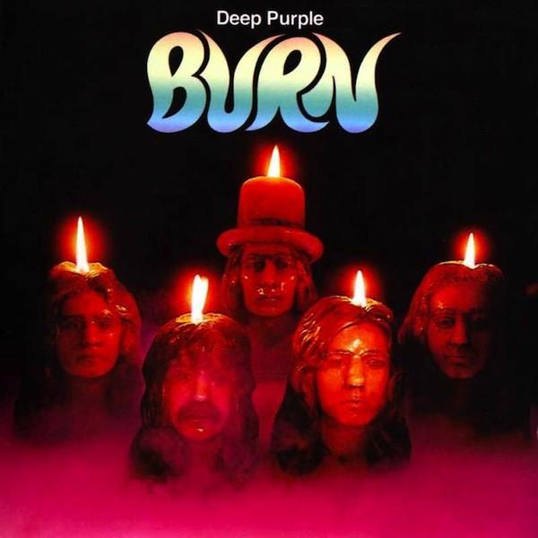 Copertina Disco Vinile 33 giri Burn di Deep Purple