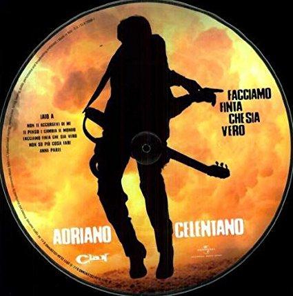 Copertina Disco Vinile 33 giri Facciamo finta che sia vero [Picture Disc] di Adriano Celentano