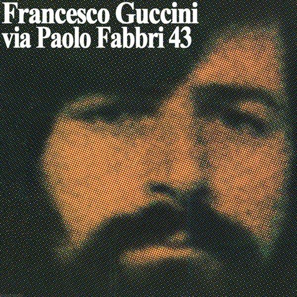 Copertina Vinile 33 giri Via Paolo Fabbri 43 di Francesco Guccini