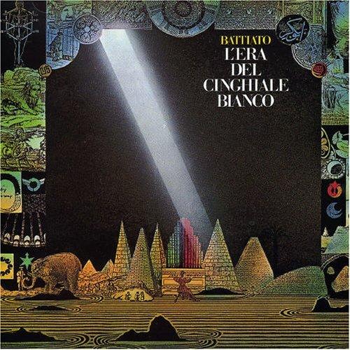 Copertina Disco Vinile 33 giri  L'era del cinghiale bianco di Franco Battiato