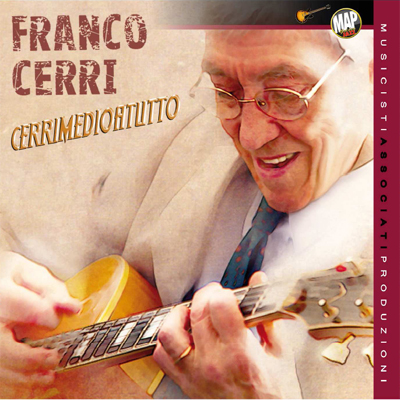 Copertina Disco Vinile 33 giri Cerrimedio a Tutto  di Franco Cerri
