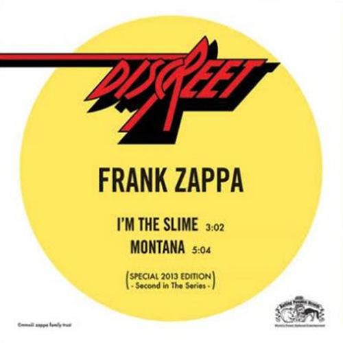 Copertina Disco Vinile 33 giri I'm the Slime/Montana [Singolo 45Giri] di Frank Zappa