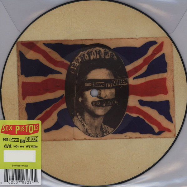 Copertina Disco Vinile 33 giri God Save the Queen [Singolo 45 Giri] di Sex Pistols