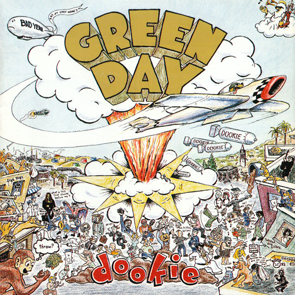 Copertina Disco Vinile 33 giri Dookie di Green Day