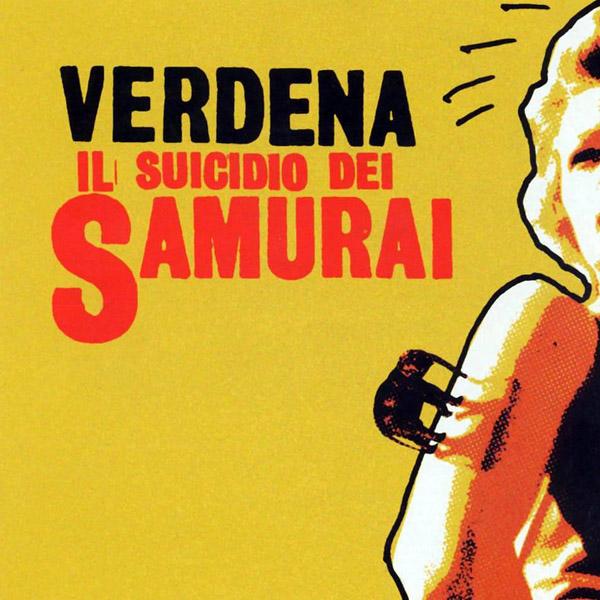 Copertina Disco Vinile 33 giri Il Suicidio Dei Samurai di Verdena