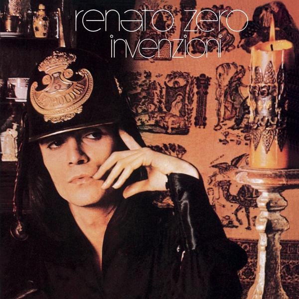 Copertina Disco Vinile 33 giri Invenzioni di Renato Zero