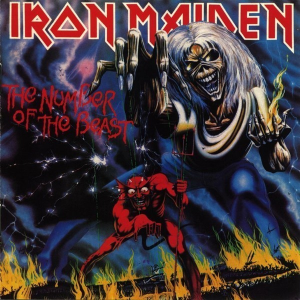 Copertina Disco Vinile 33 giri The Number of the Beast di Iron Maiden