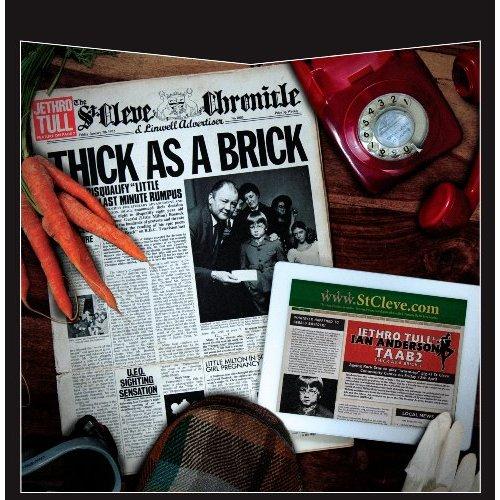 Copertina Disco Vinile 33 giri Thick As a Brick 1 & 2 [2 LP] di Jethro Tull
