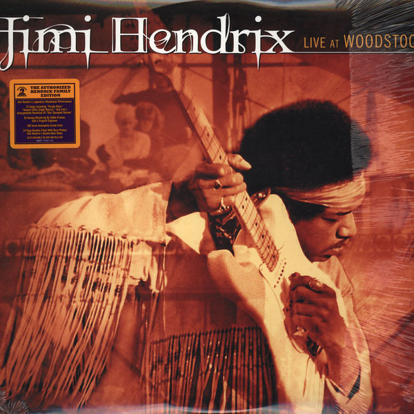 Copertina Disco Vinile 33 giri Live at Woodstock [3 LP] di Jimi Hendrix