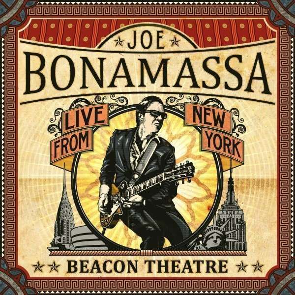 Copertina Disco Vinile 33 giri Beacon Theatre: Live from New York [2 LP] di Joe Bonamassa