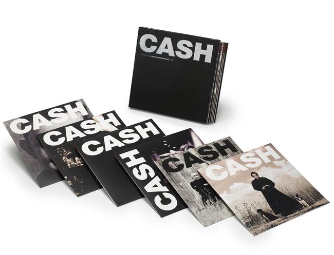 Copertina Disco Vinile 33 giri American Recordings I-VI Box Set [Cofanetto 7xLP] di Johnny Cash