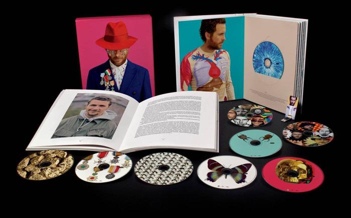 Copertina Disco Vinile 33 giri Box Backup 1987-2012 [Cofanetto] di Jovanotti