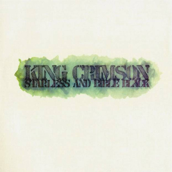 Copertina Disco Vinile 33 giri Starless and Bible Black  di King Crimson